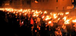 +Факельное шествие