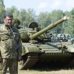 порошенко и танк