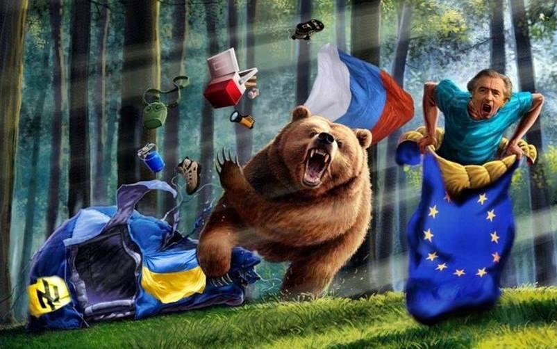 русский медведь2