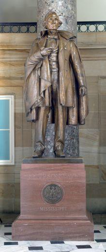 статуя Дж. Дэвиса в Конгрессе