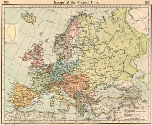 европа 1907году