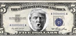 трамп на долларе 2