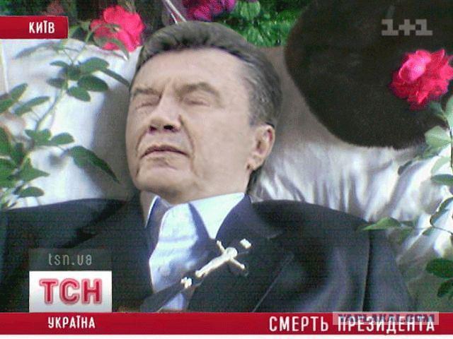 янукович в гробу