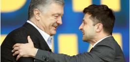 зеленский и порошенко-2