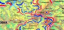 карта дебальцево 4 фев