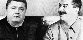 порошенко и сталин