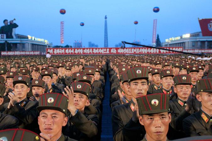 корейские солдаты