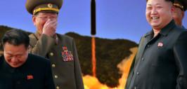 запуск ракеты в КНДР