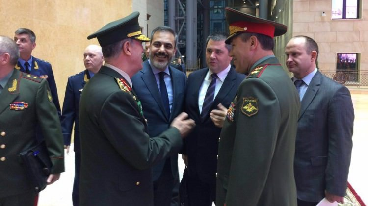 начальник турецкого генштаба в москвк