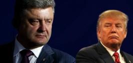 порошенко и трамп-1