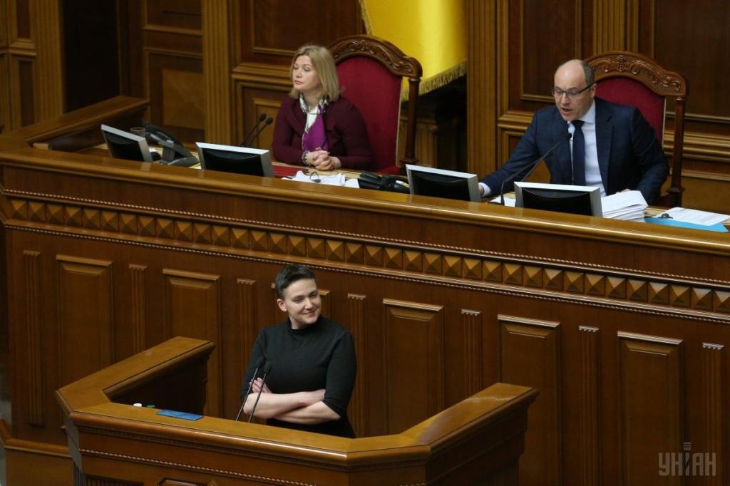 савченко выступает перед арестом - 2