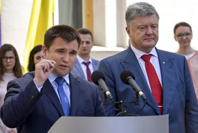 порошенко и климкин