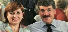 грудинин с женой