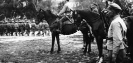 Тухачевский провожает войска в бой