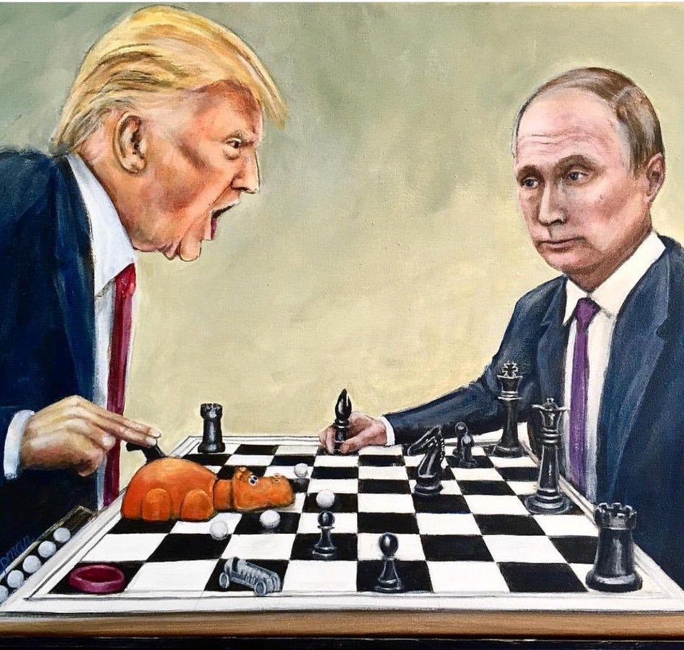 путин трамп шахматы