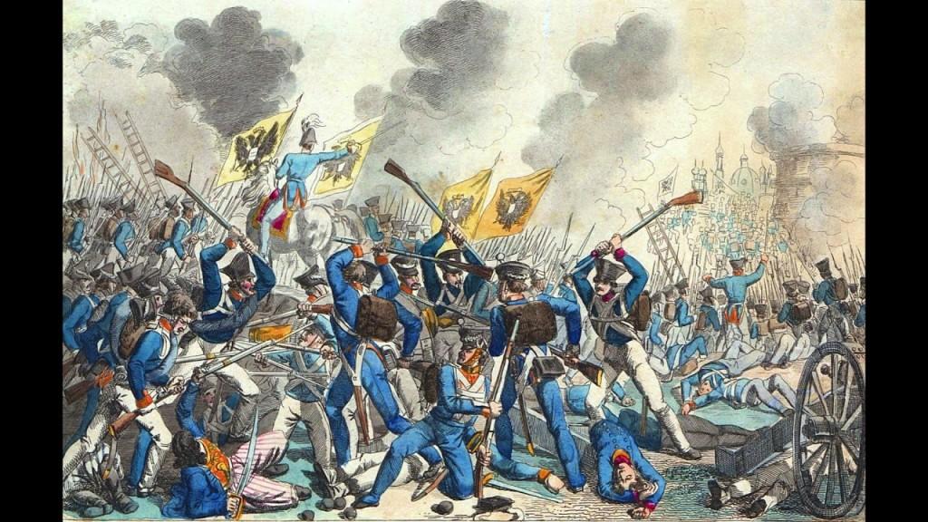 Штурм Варшавы в Бородинскую годовщину 1831 года