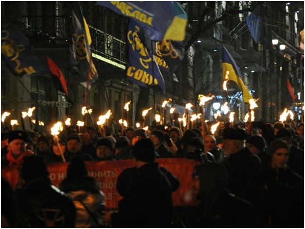 факельное шествие -3