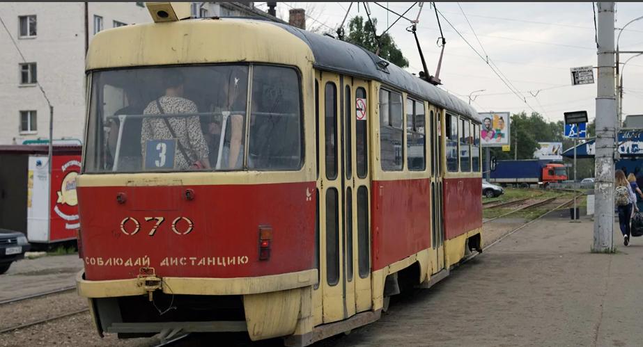 трамвай в орле