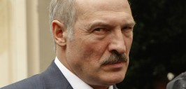 Belarus' President Lukashenko speaks to reporters after a meeting with the Knights of Malta at their headquarters in Rome