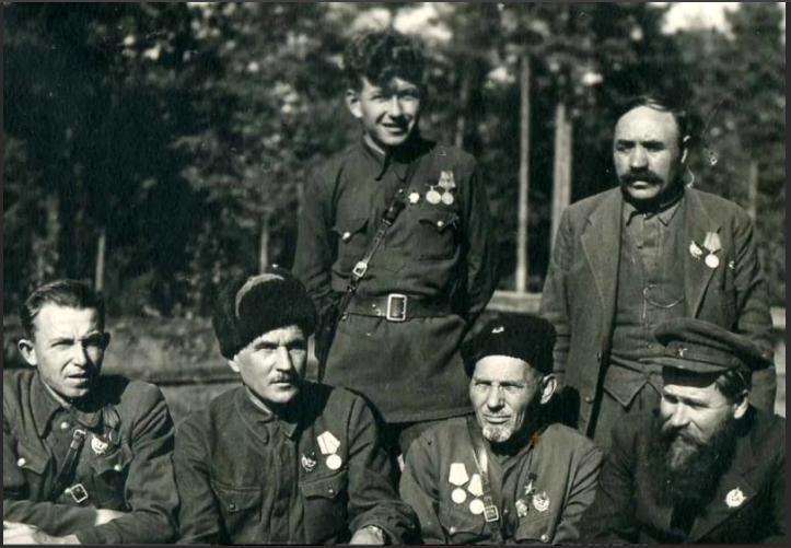 ковпак и партизаны