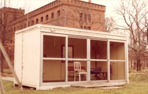 Садовый домик тюрьмы Шпандау, в котором был найден якобы самоповесившийся Рудольф Гесс