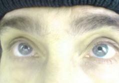 Мои глаза крупным планом 5 лет тому назад