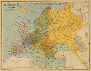 Европа 1910
