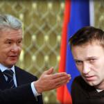 собянин и навальный