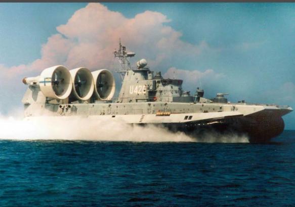 Малый десантный корабль проекта Зубр