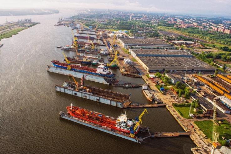 В порту Клайпеды