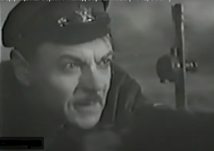 ворошилов у пулемета-3