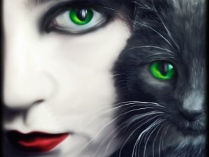 зеленая-кошка-300x225