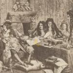 Людовик 14 со своими министрами